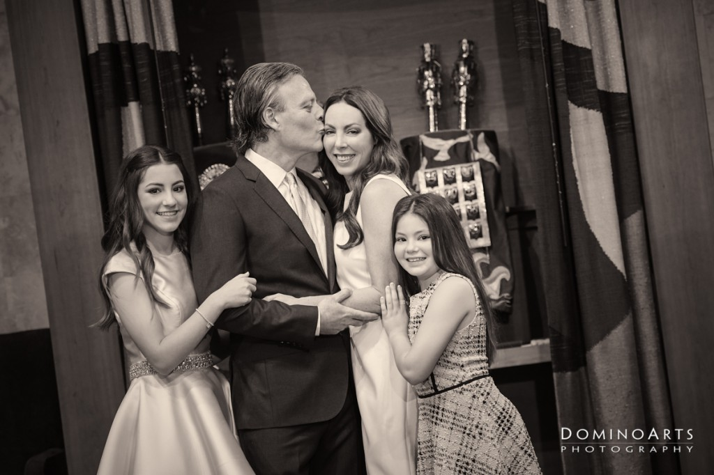 Family Mitzvah portrait by Domino Arts Photography