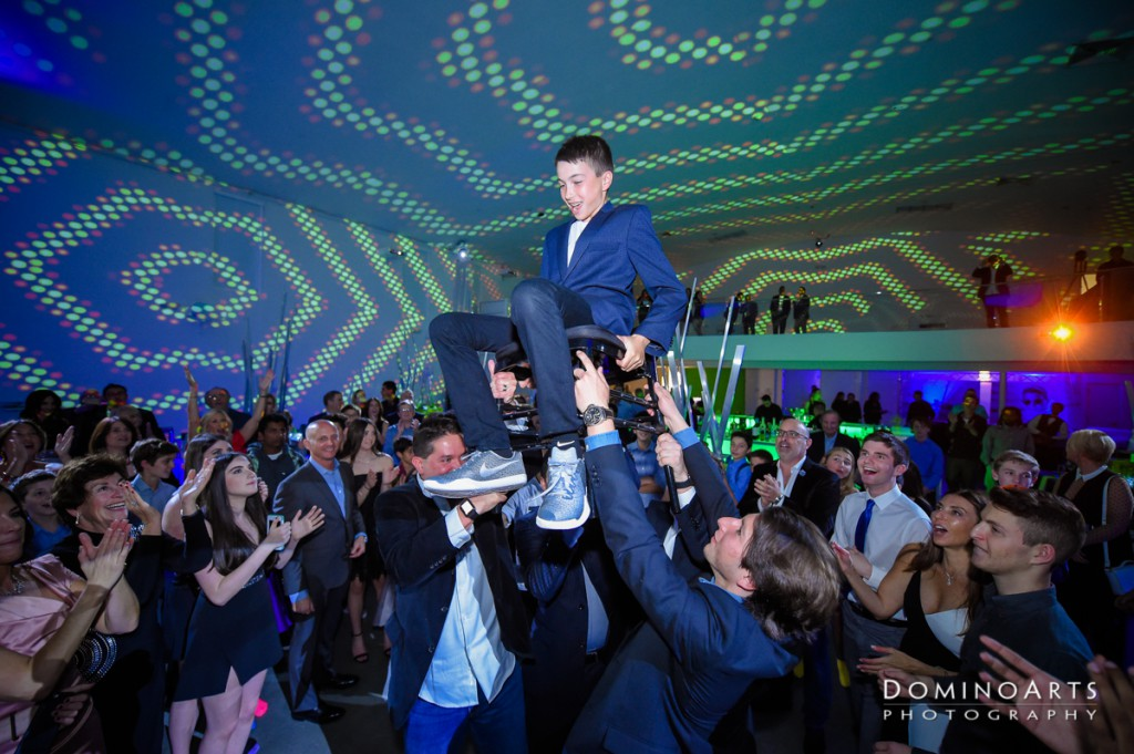 Neon Bar Mitzvah Hora at The Temple House, Miami Beach