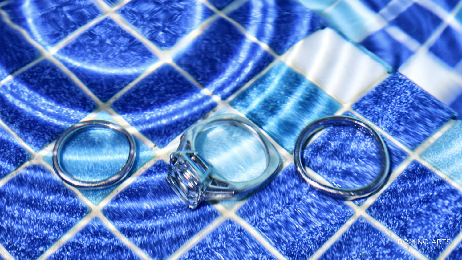 Creative Wedding bands pictures at One&Only Ocean Club Bahamas