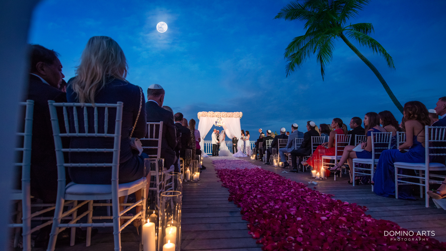 Wedding ceremony décor pictures at One&Only Ocean Club Bahamas