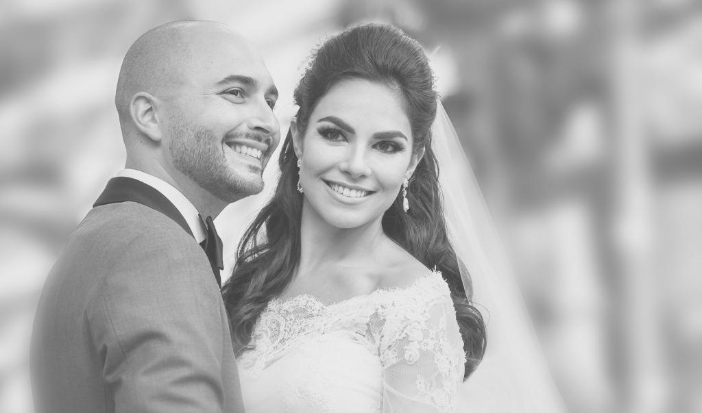 couple at Luxury Destination Wedding at East, Miami
