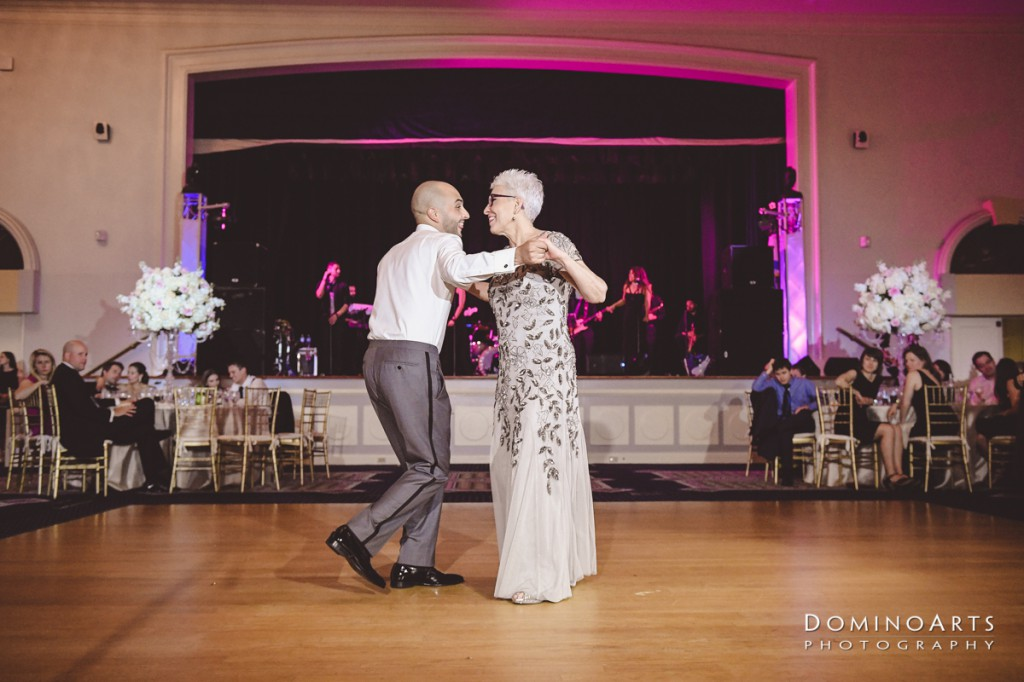 fun emotional parent dance pictures at Luxury Destination Wedding East, Miami