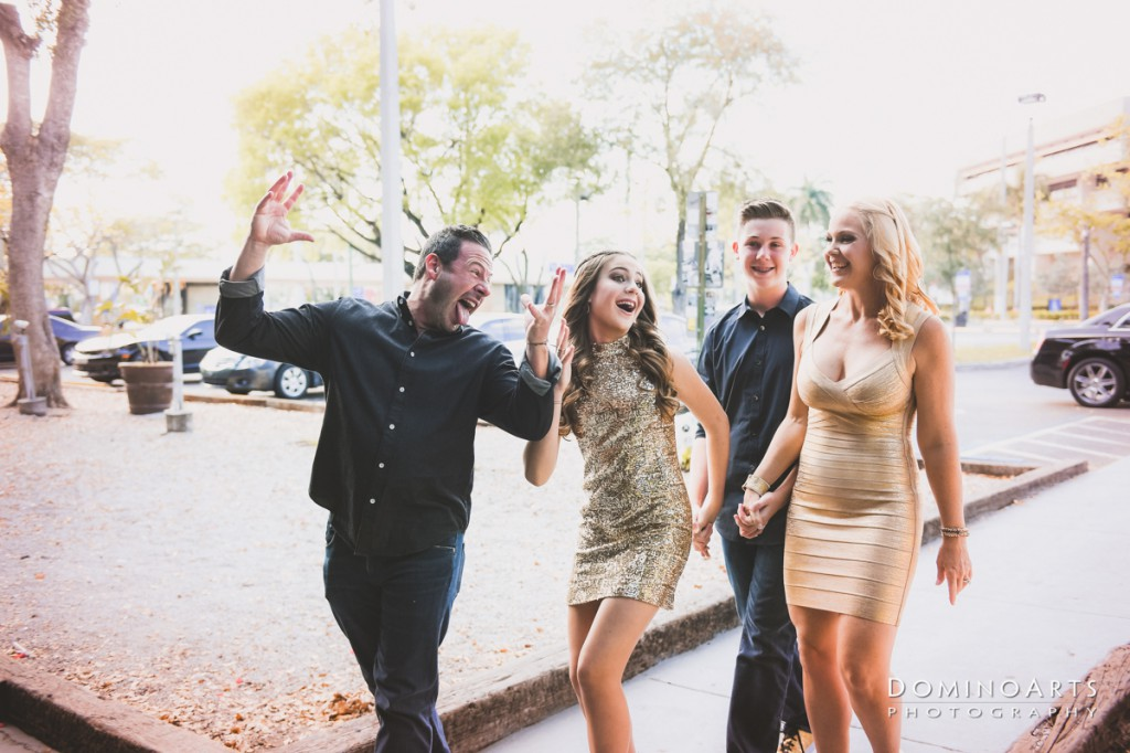Fun Family Mitzvah Photography Fort Lauderdale