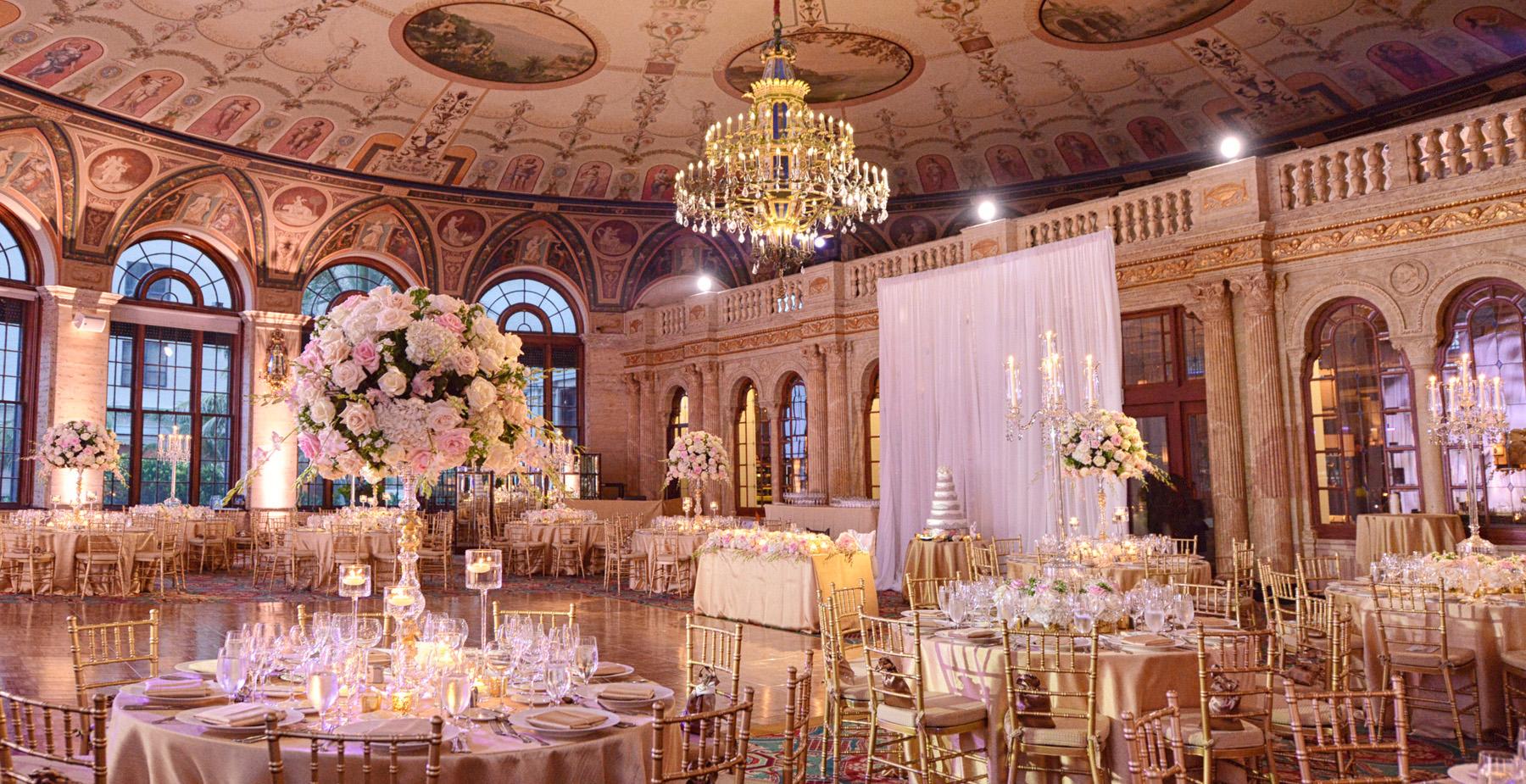 The Breakers Palm Beach Wedding Decor