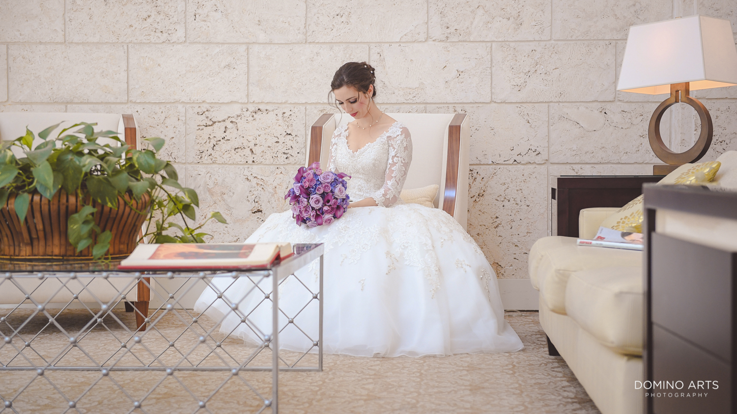 beautiful bride pictures at Trump national Doral in South Florida