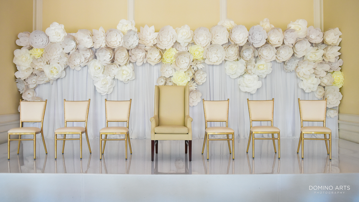 luxury bedeken pictures at Trump national Doral in South Florida wedding