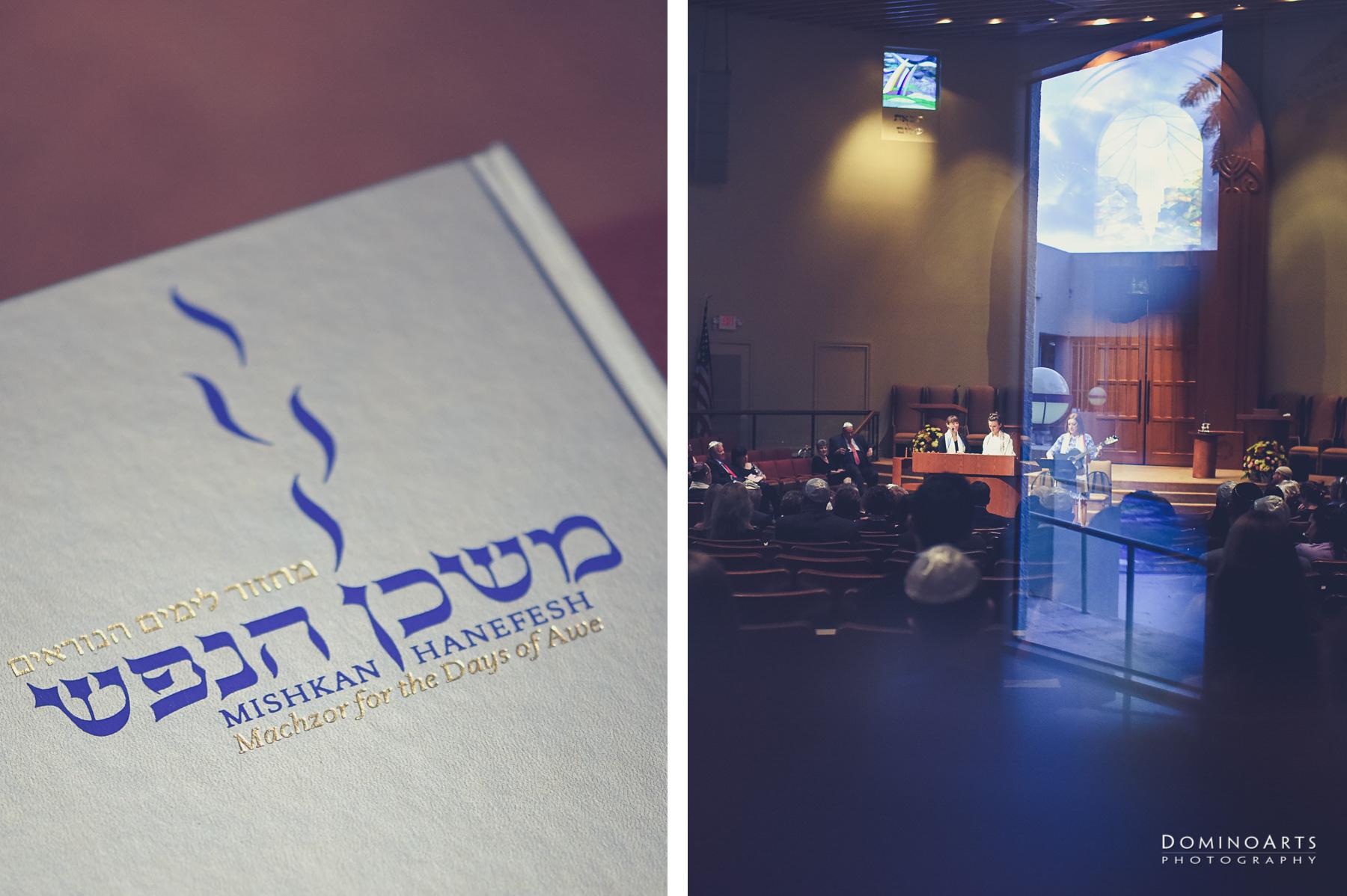 Creative Bat Mitzvah Ceremony Photography at B'nai Israel, Boca Raton