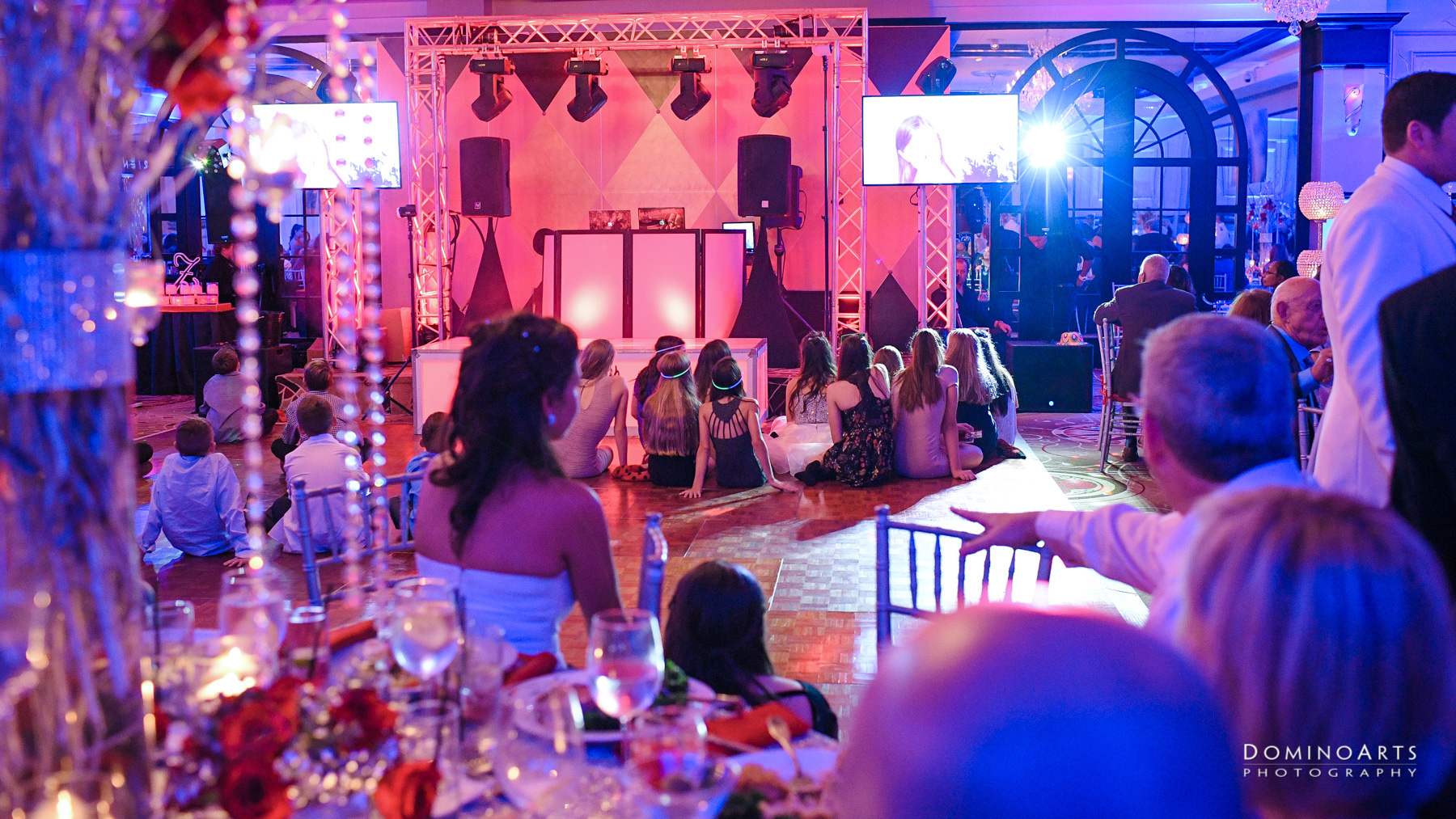 party pictures at Temple Beth El Mitzvah, Boca Raton Mitzvah