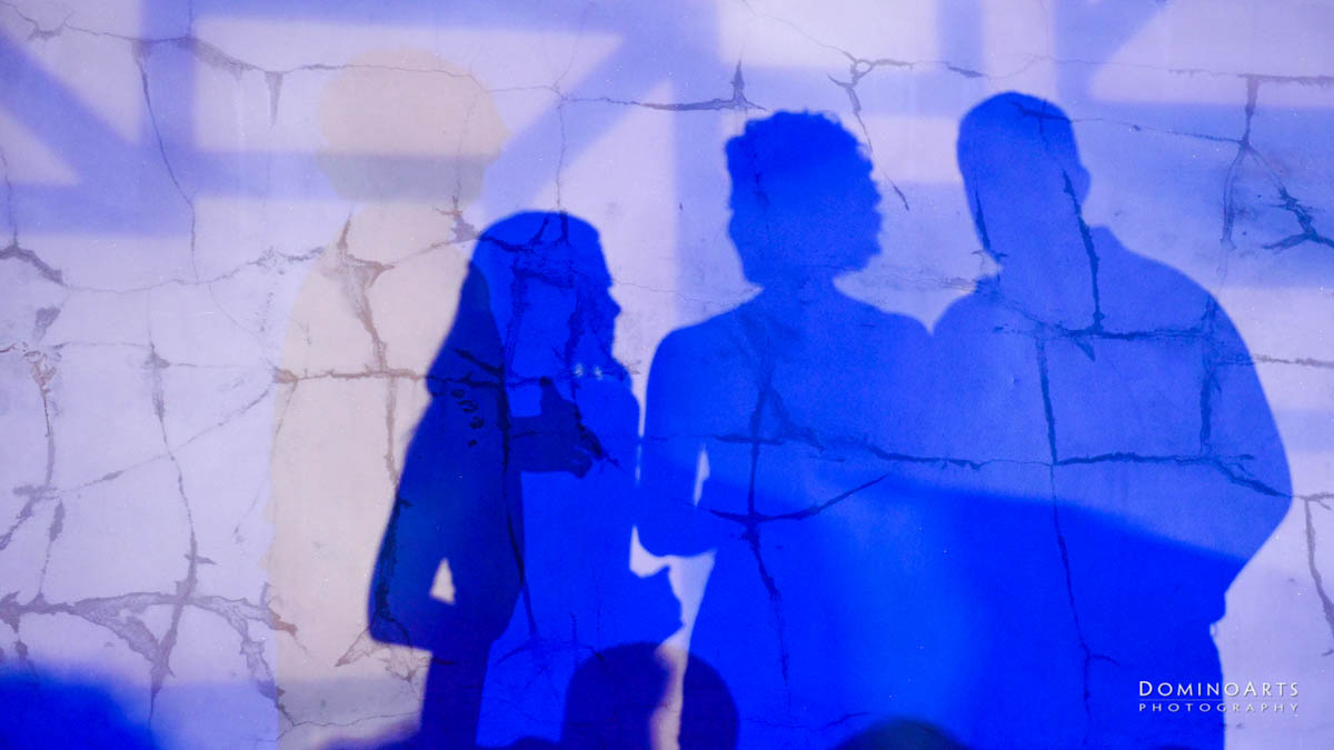 creative mitzvah speech pictures of shadows at Maps Backlot in Wynwood Miami