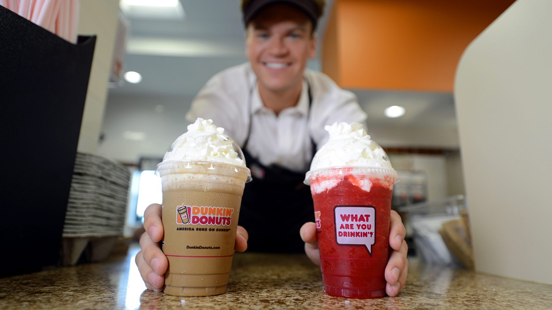 Professional Advertisement Photography / Dunkin Donuts