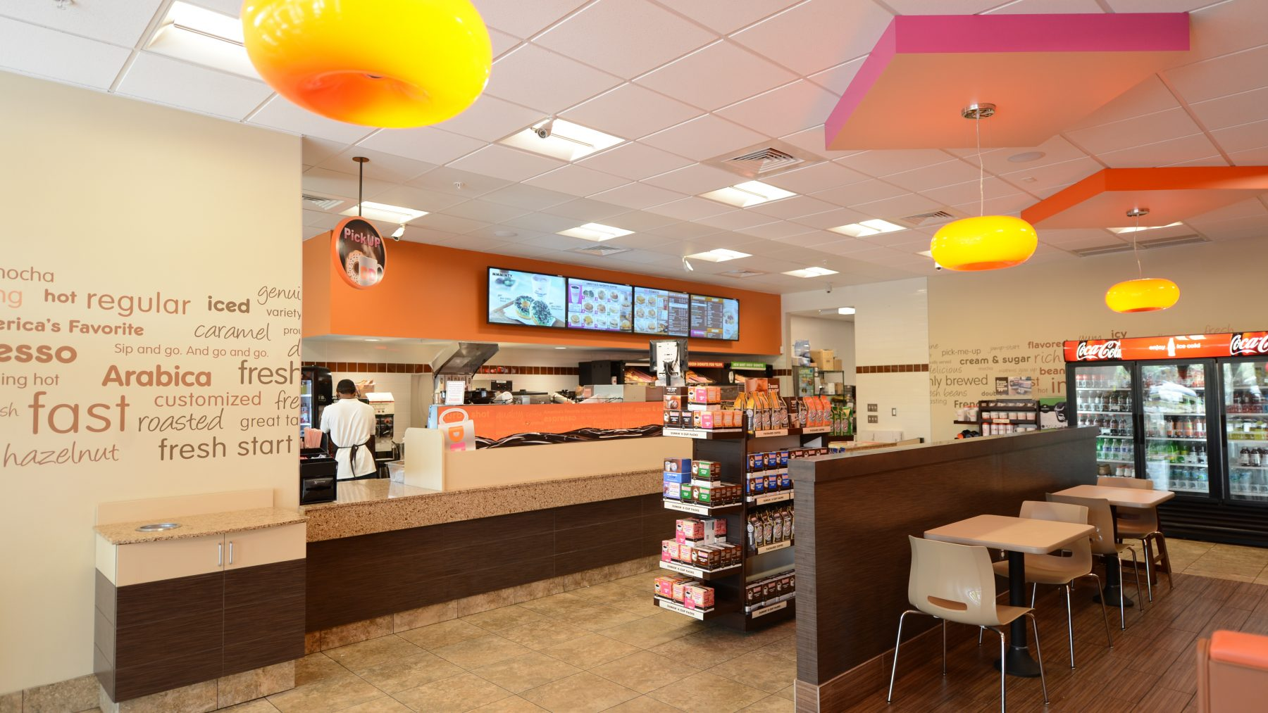 Professional Store Advertisement Photography / Dunkin Donuts