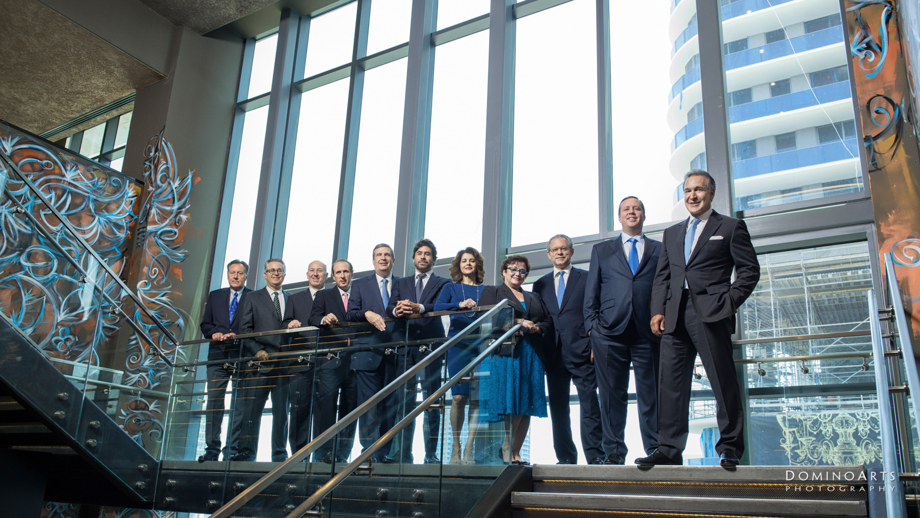 Insigneo Financial Group Team Photography by Domino Arts