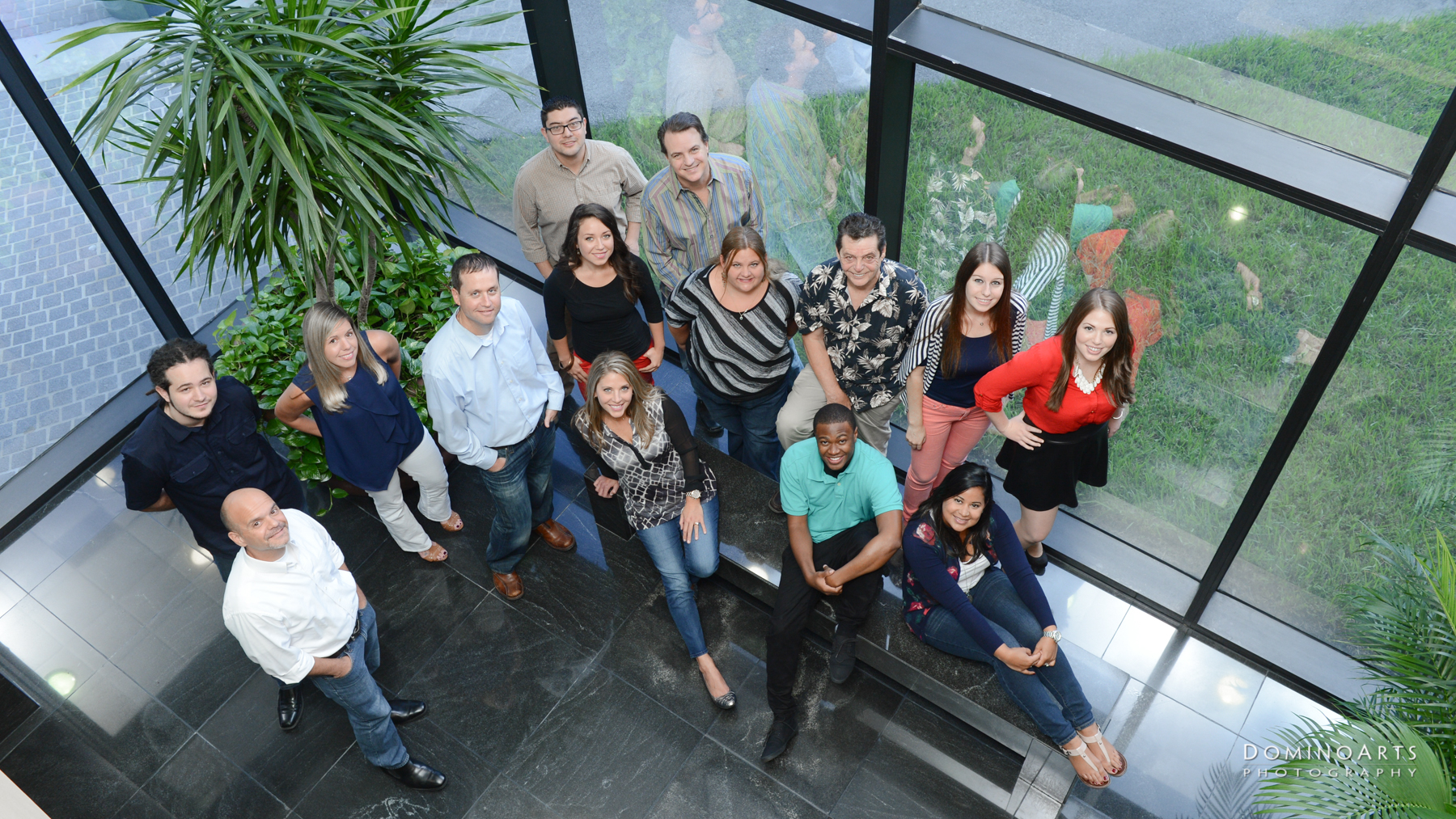 PR team photography by Domino Arts