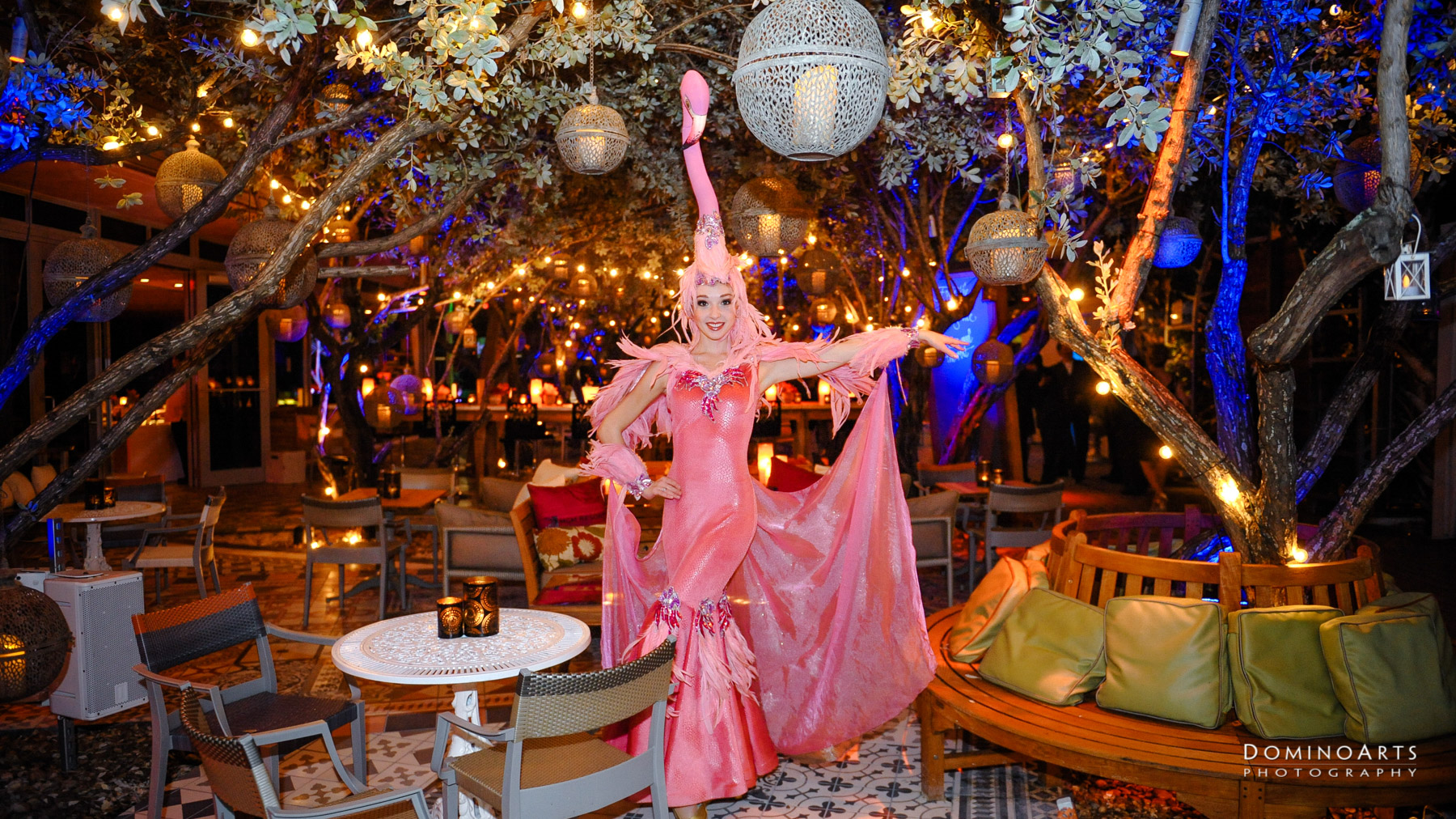Entertainers at Corporate Event of MGM Resorts International at SLS South Beach, Miami