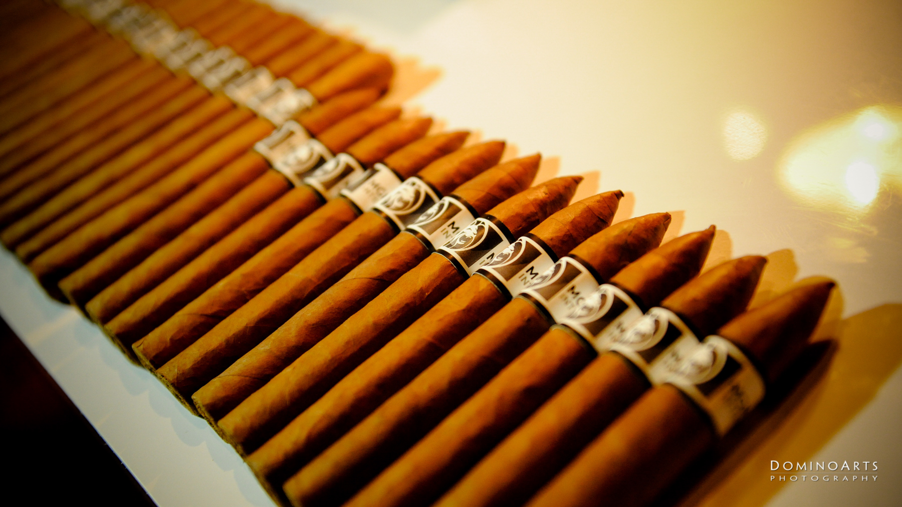 Hand rolled cigars at Corporate Event MGM Resorts International at SLS South Beach, Miami