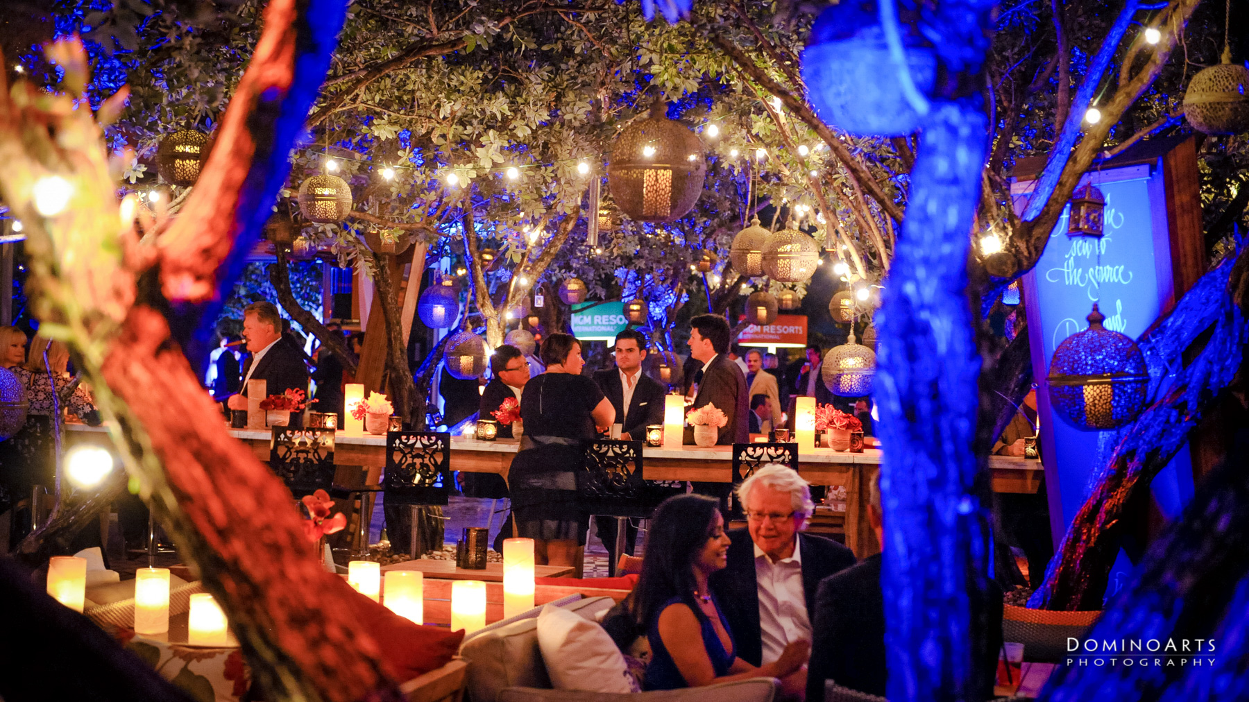 outdoor Corporate Event at SLS South Beach, Miami by Domino Arts Photography