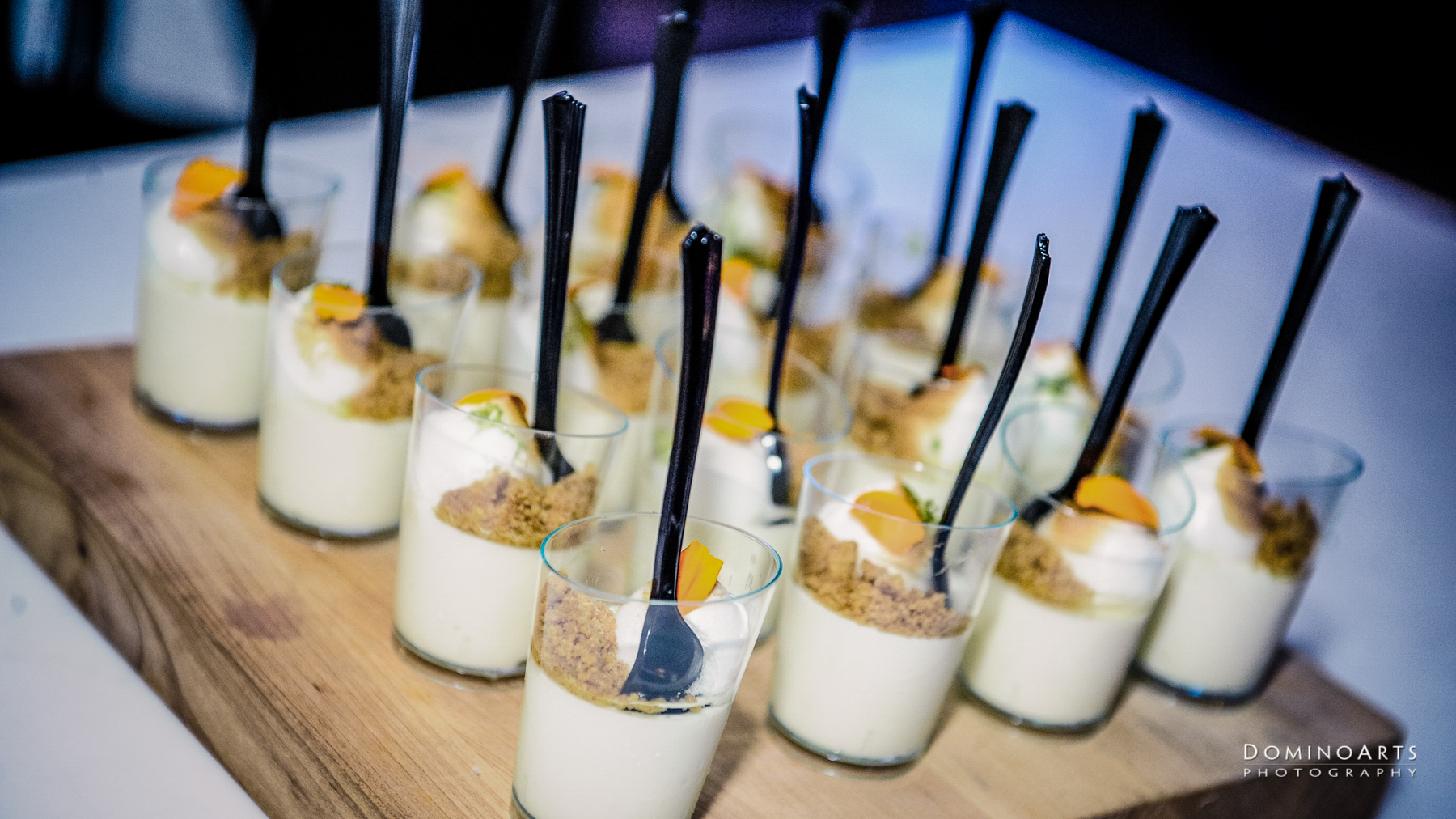 Dessert and catering at Corporate Event at SLS South Beach, Miami by Domino Arts Photography