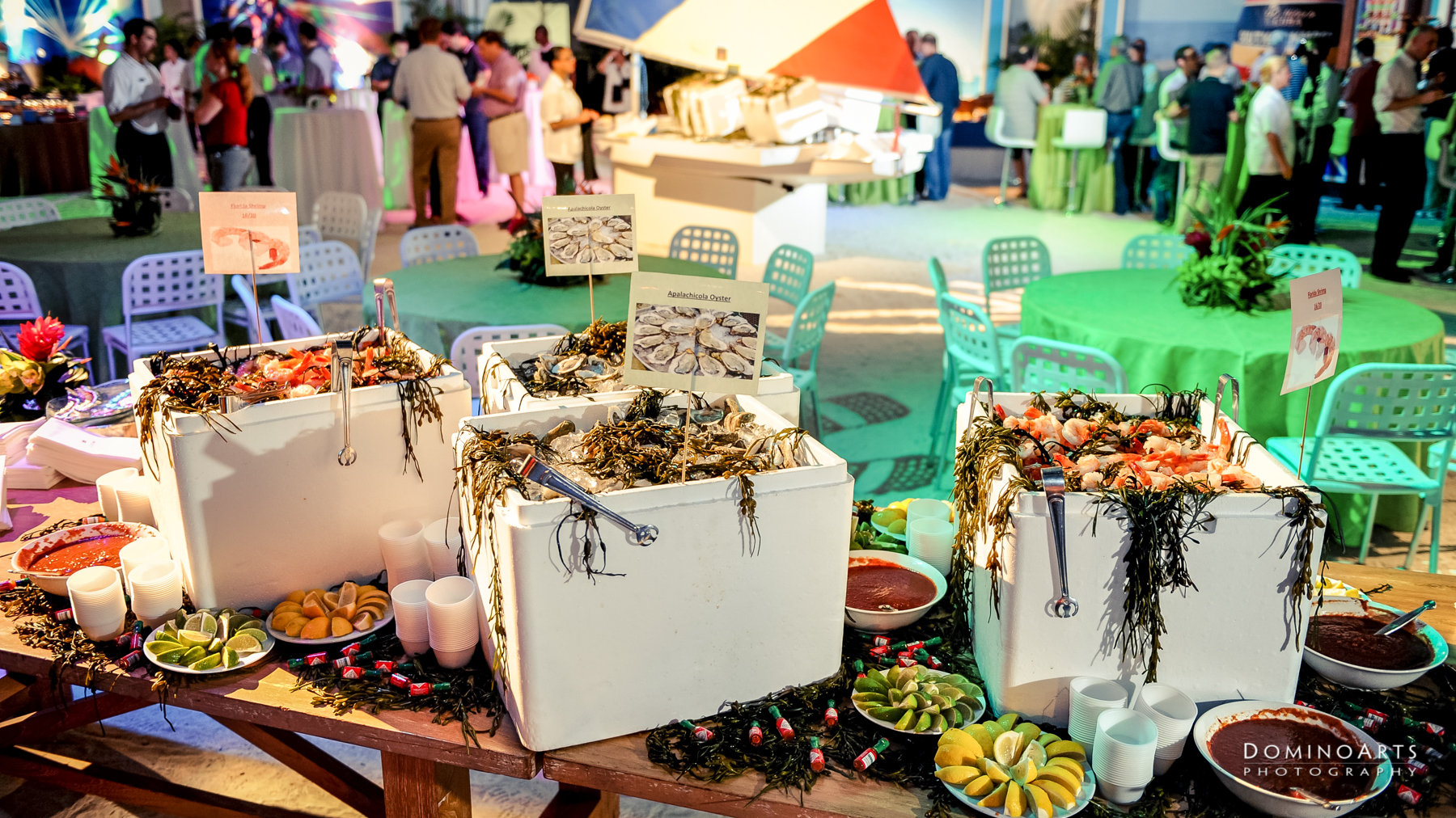 Beach party Corporate Event Photography Miami Barton G Party Domino Arts