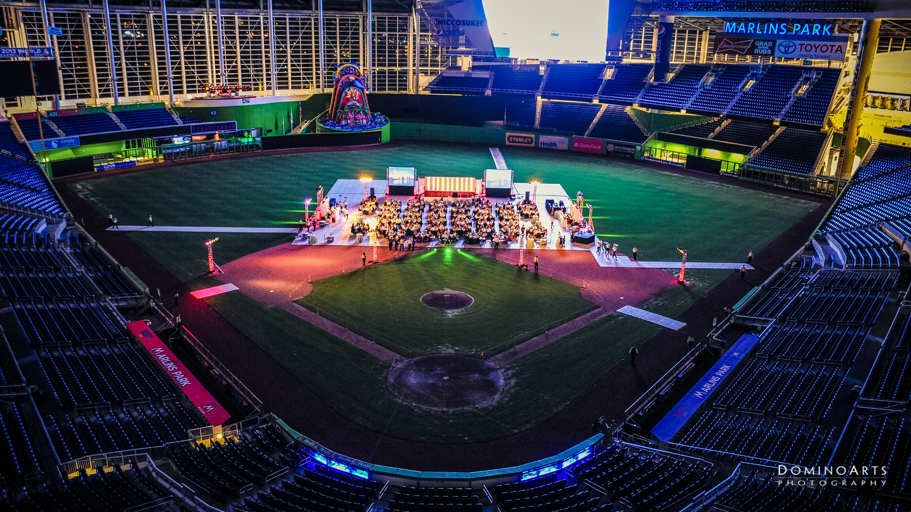 Corporate Event Marlins Park Barton G by Domino Arts Photography