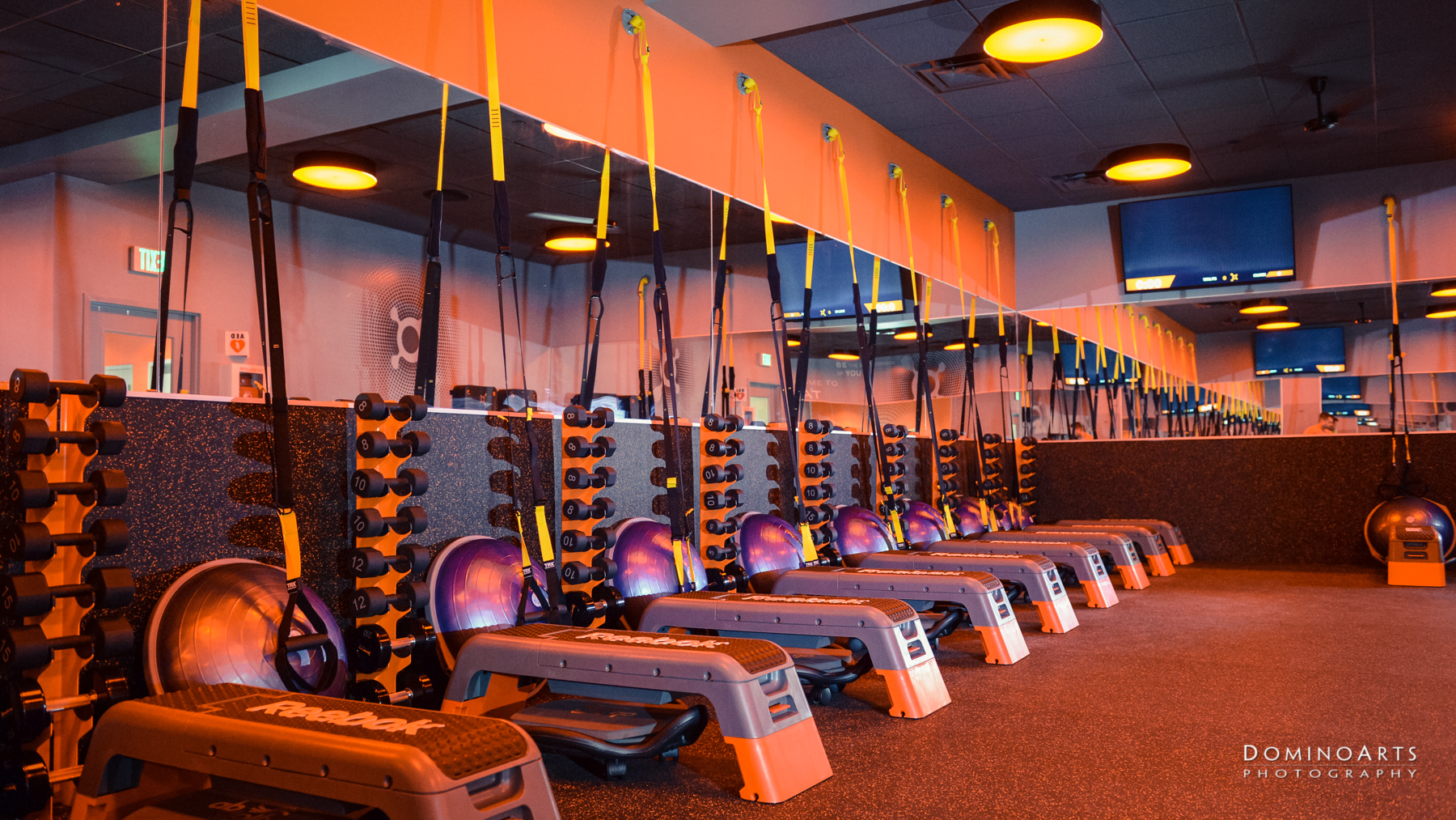 Installations Professional Advertisement Photography, South Florida / Orange Theory Fitness