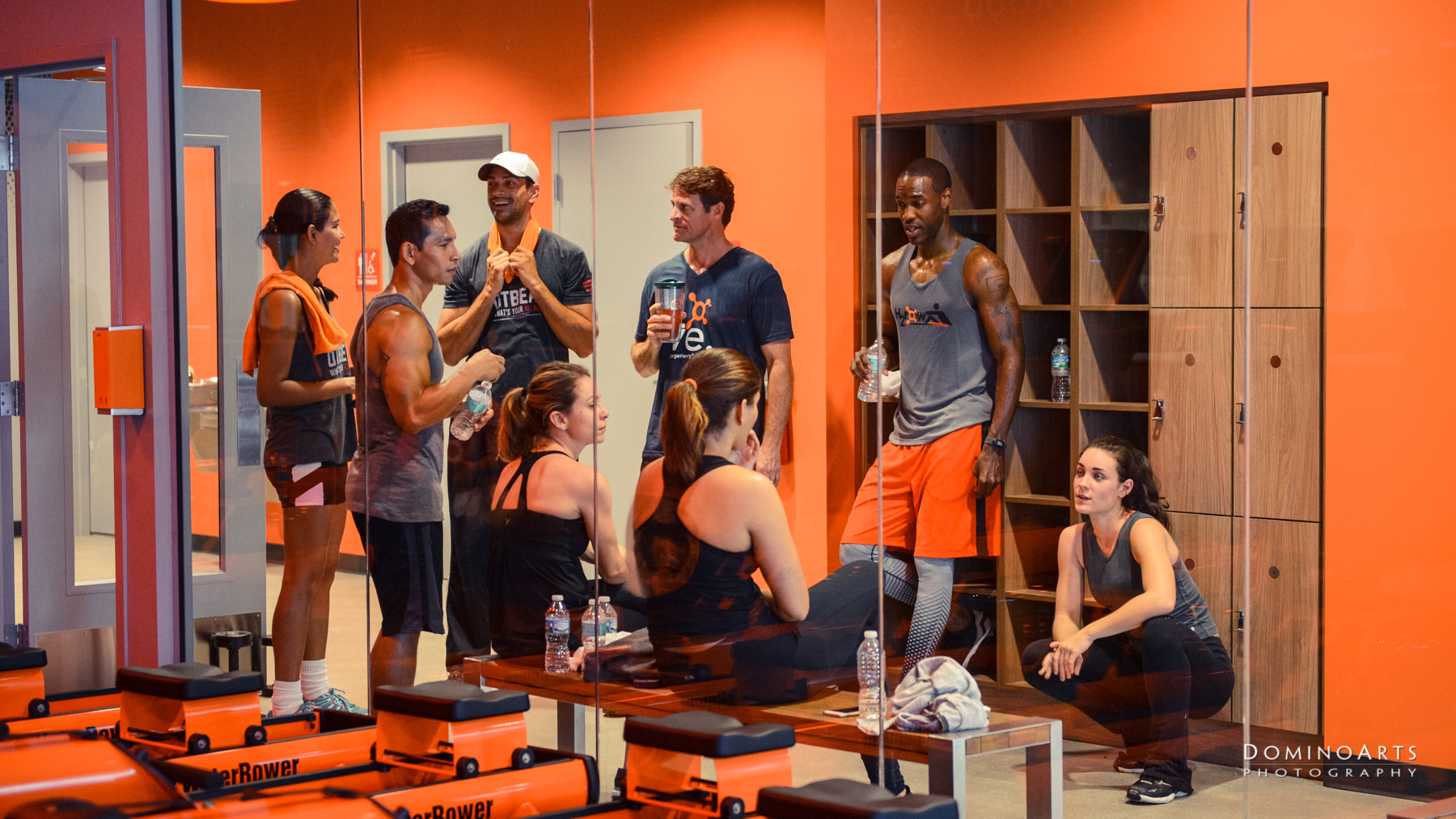 Professional Advertisement Photography in South Florida by Domino Arts Orange Theory Fitness