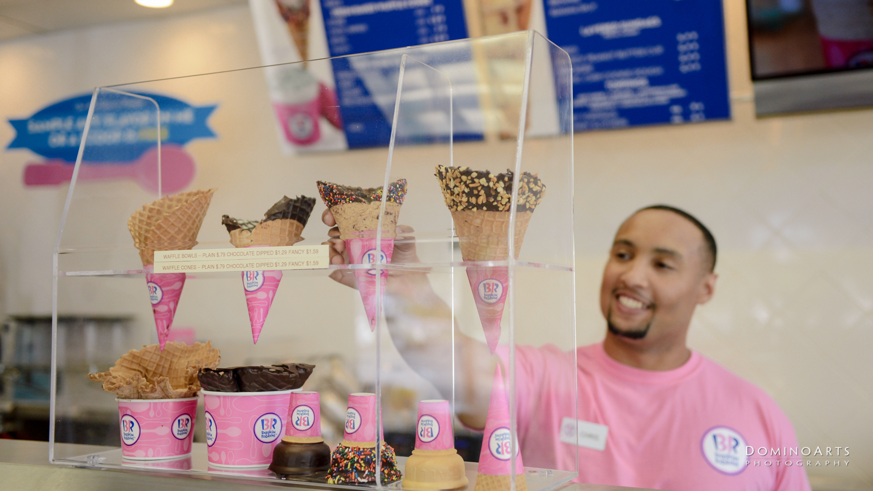 Corporate Photo Session / Baskin Robbins