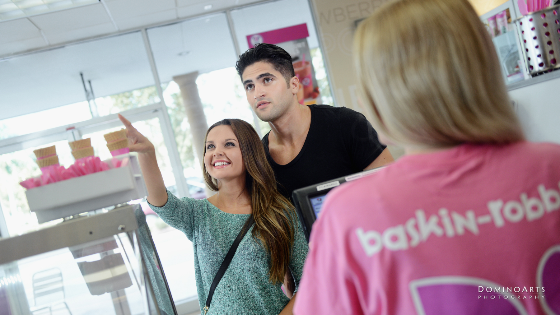 Food Industry Franchise Photography Baskin Robbins by Domino Arts