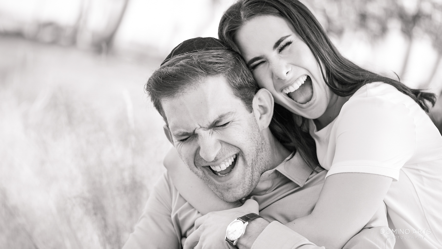 Fun silly natural engagement photographers miami beach