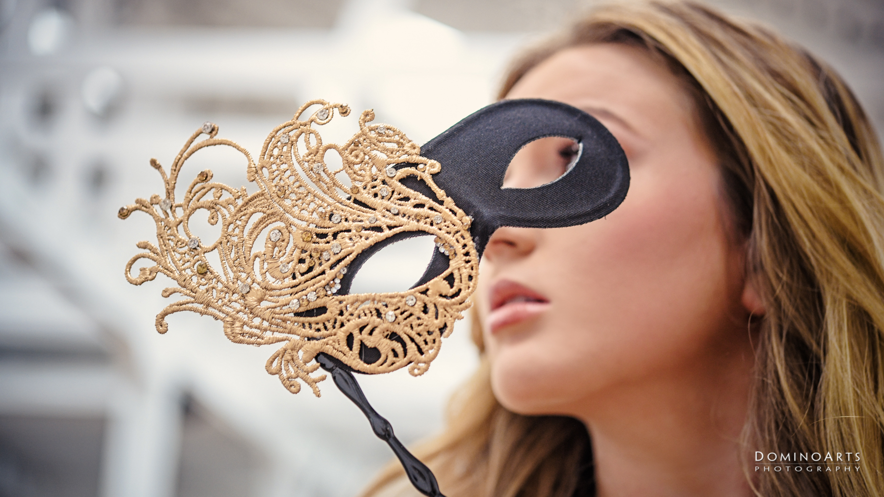 Masquerade theme Trendy Luxury Pre Session Photography at Little River Studios