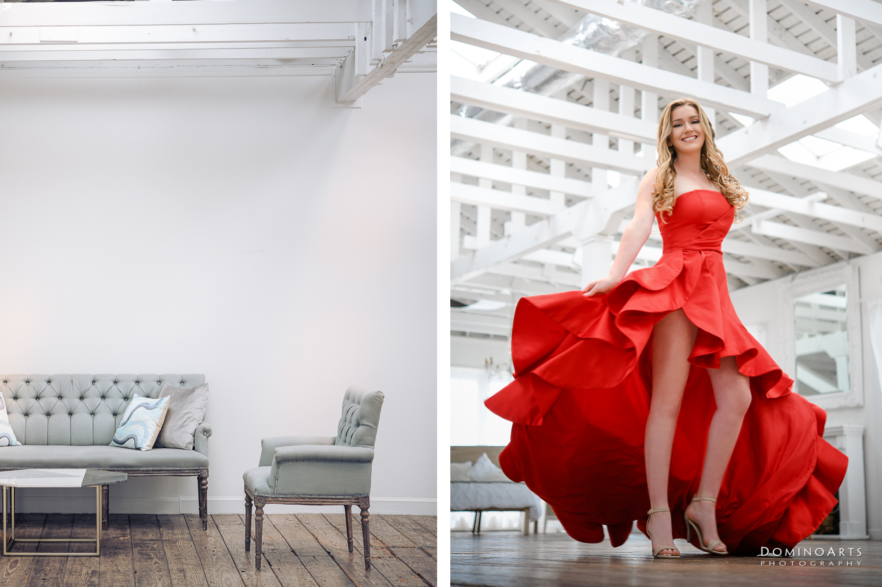 Gorgeous Trendy Luxury Pre Session Photography at Little River Studios