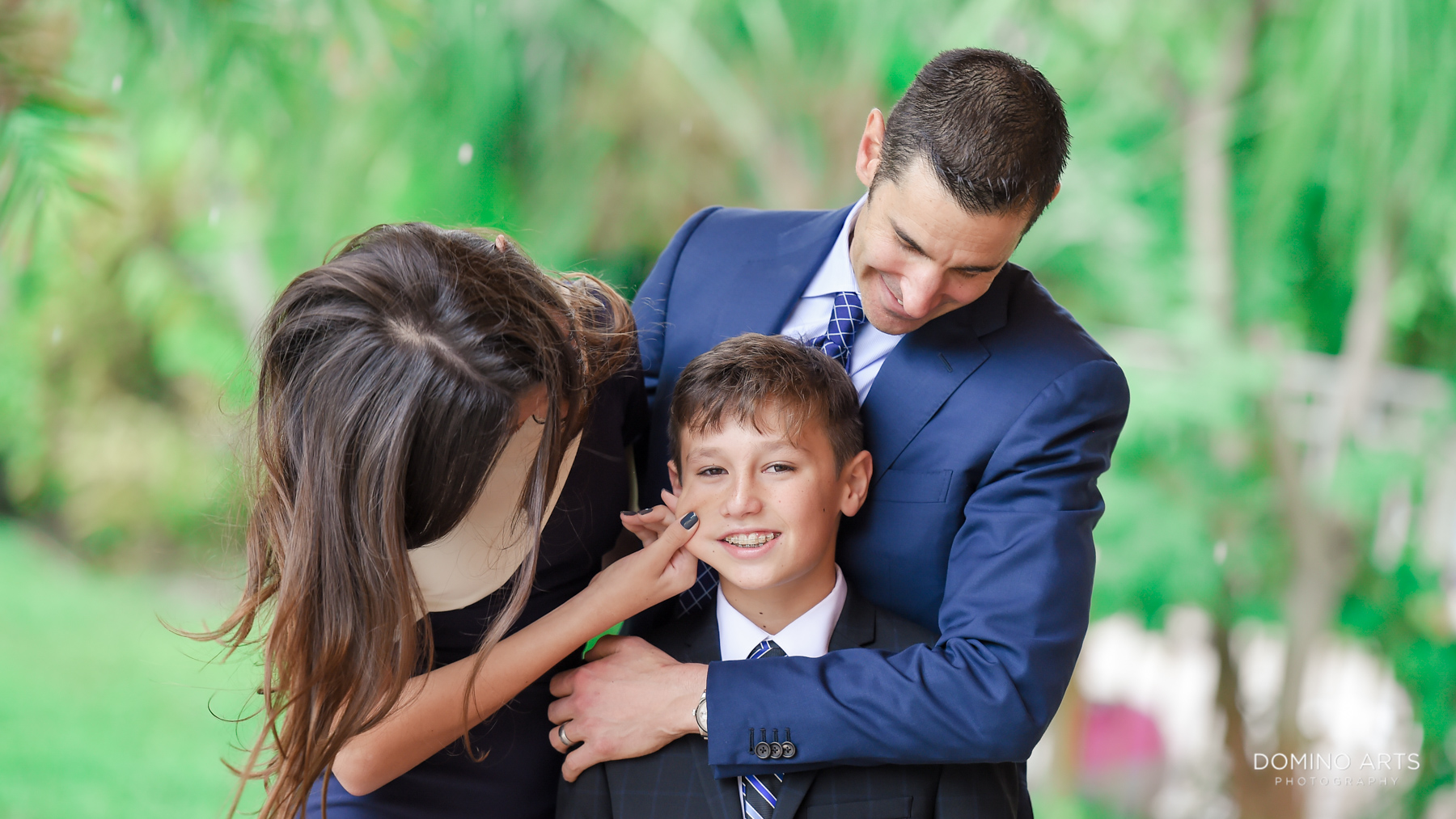 Luxury Bar Mitzvah Family Photography in Parkland, Florida