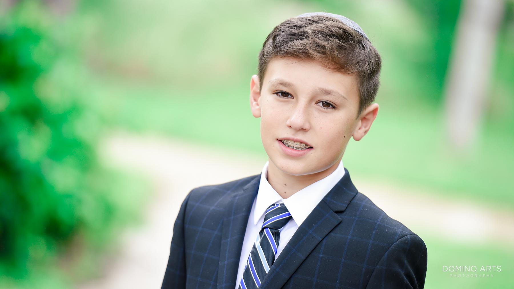 Mitzvah boy portraits Parkland, Florida