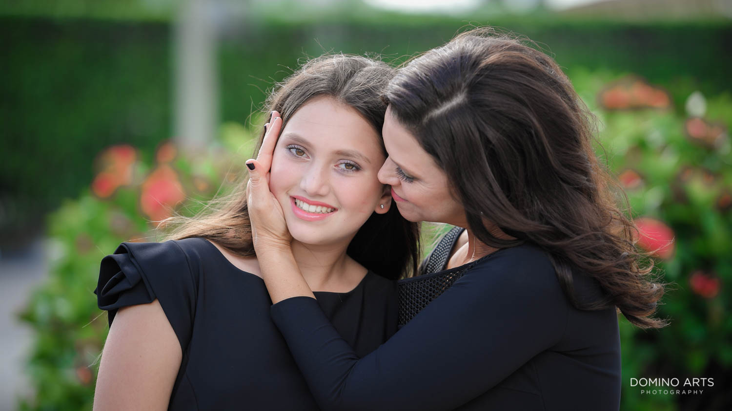 Family portraits at Aventura Turnberry Jewish Center Mitzvah
