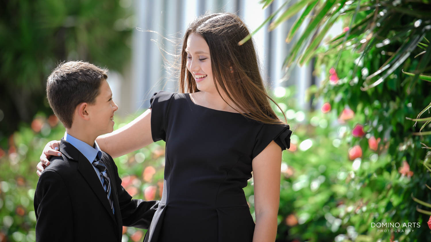 Family pictures at Aventura Turnberry Jewish Center Mitzvah