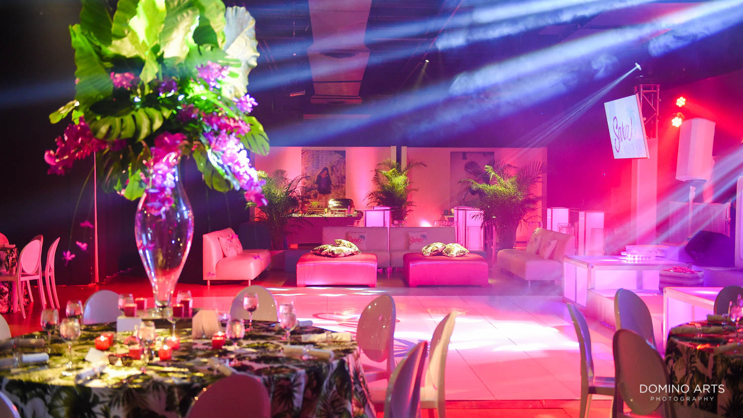 Tropical Theme Bat Mitzvah Photography at Gallery of Amazing Things ...