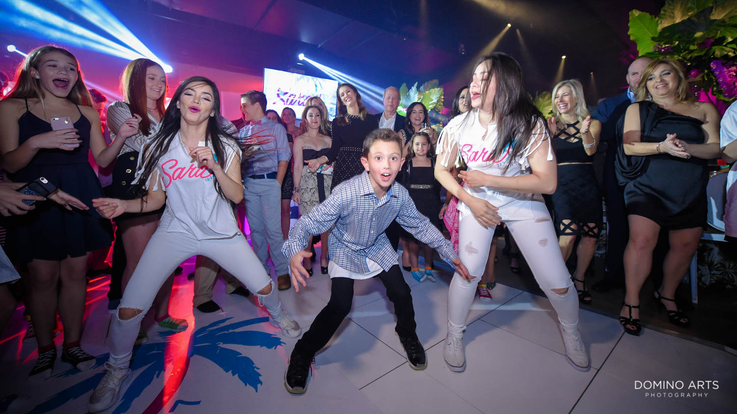 Rock With U Best entertainment at gallery of amazing things mitzvah