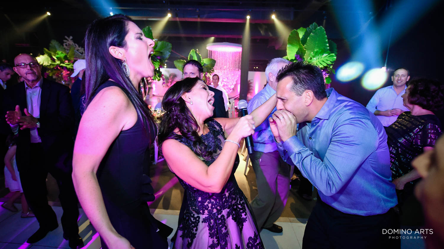 Fun party pictures with Rock With U at Gallery of amazing things mitzvah