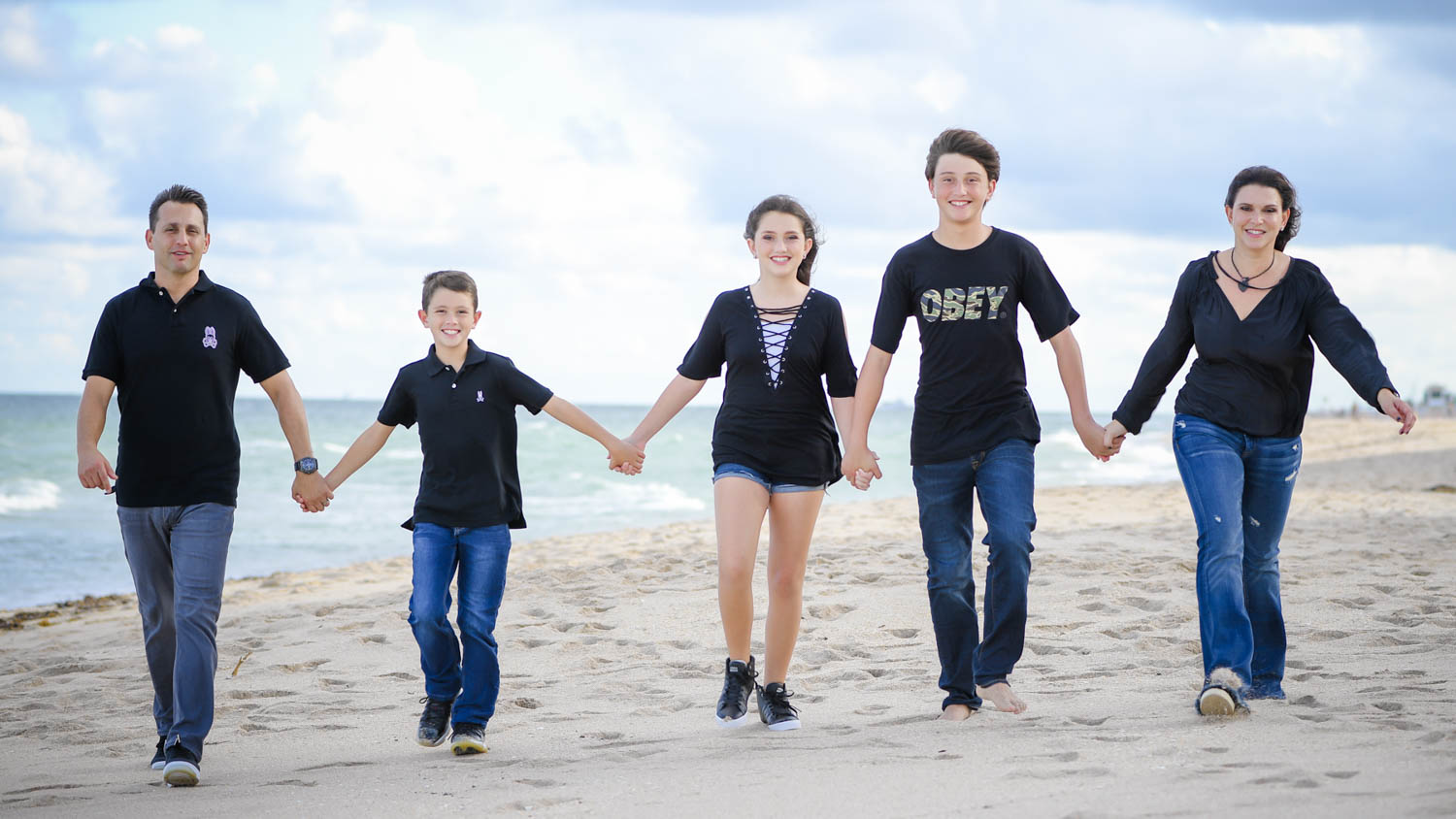 Best natural fort lauderdale beach family photography