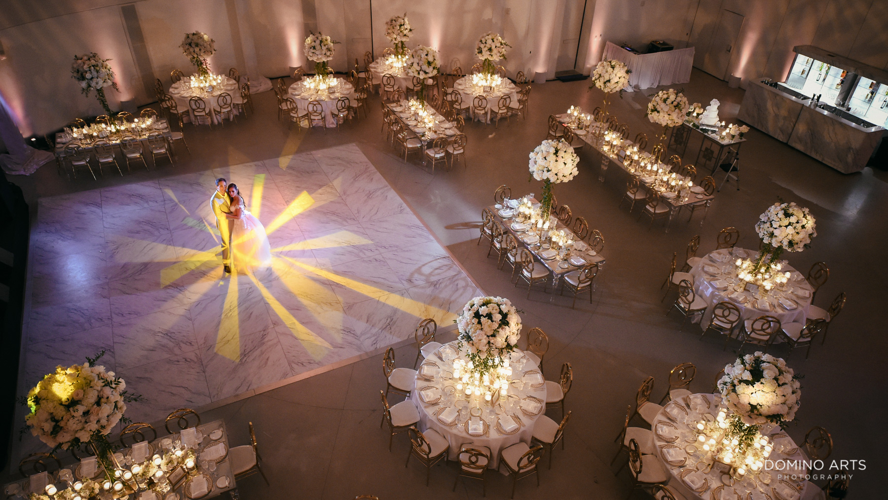 Luxury Wedding decor at Faena Hotel Miami