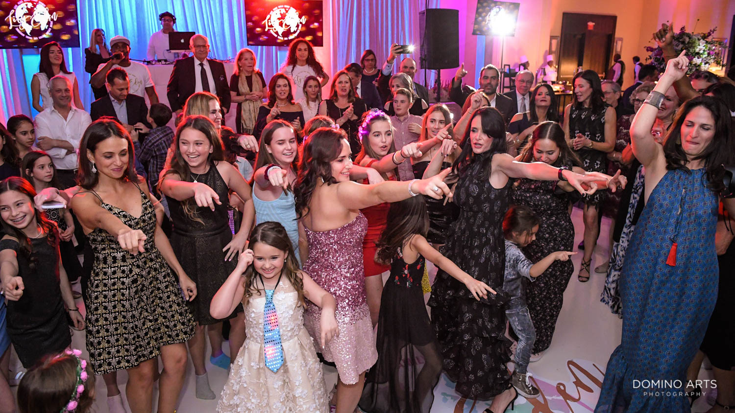 Fun party pictures at Harbor Beach Marriot Miami
