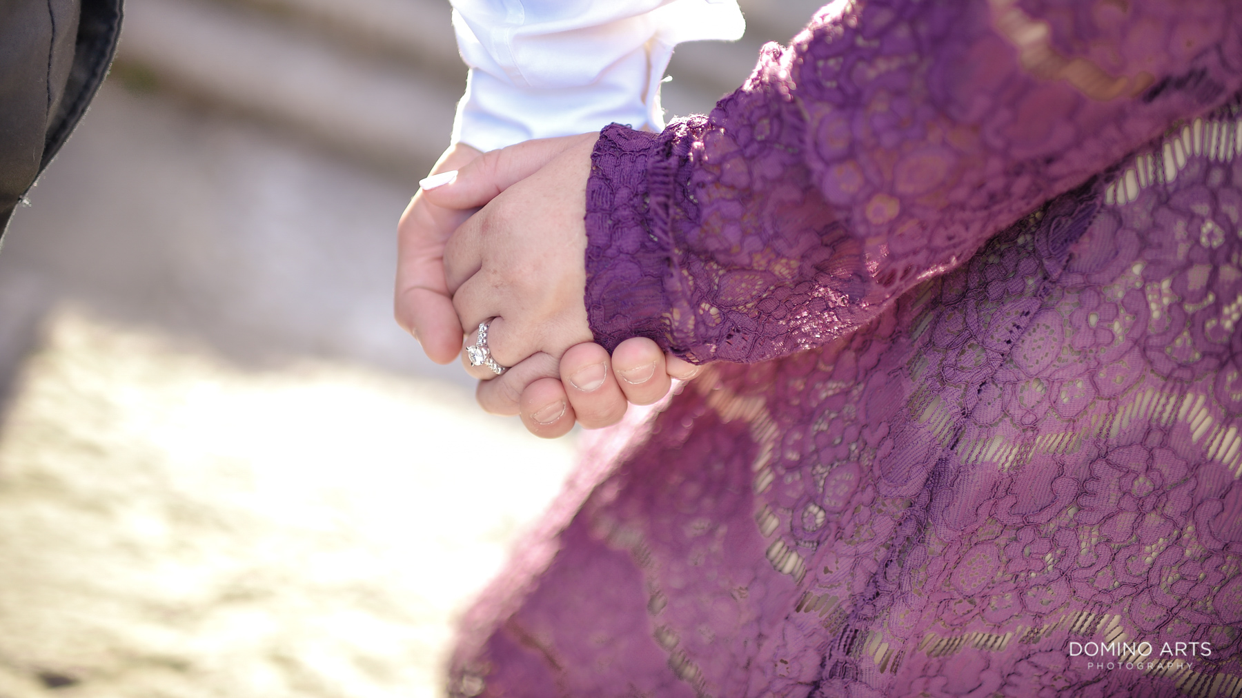 Engagement details at Fun Luxury Engagement Photography at Vizcaya Museum & Gardens