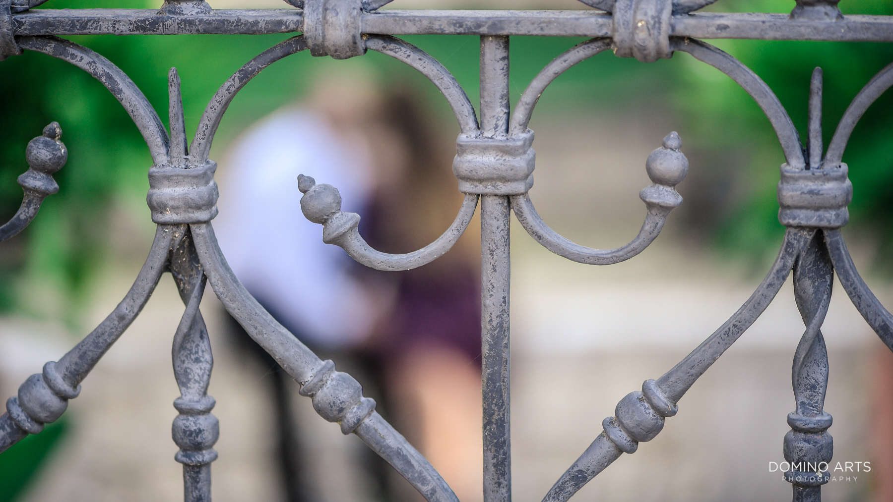 Historic Details at Vizcaya Museum and Gardens Miami Engagement