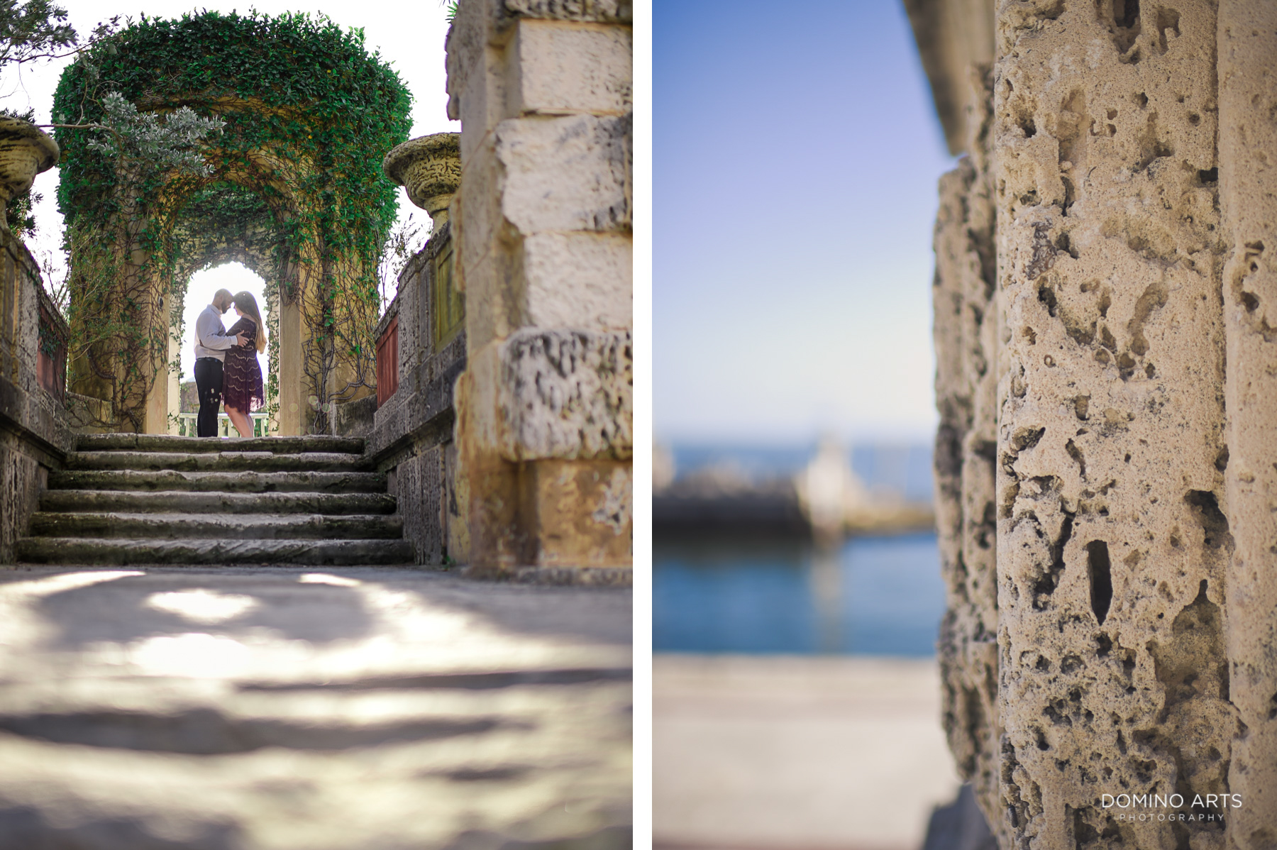 Waterfront Vizcaya Museum and Gardens Miami Engagement