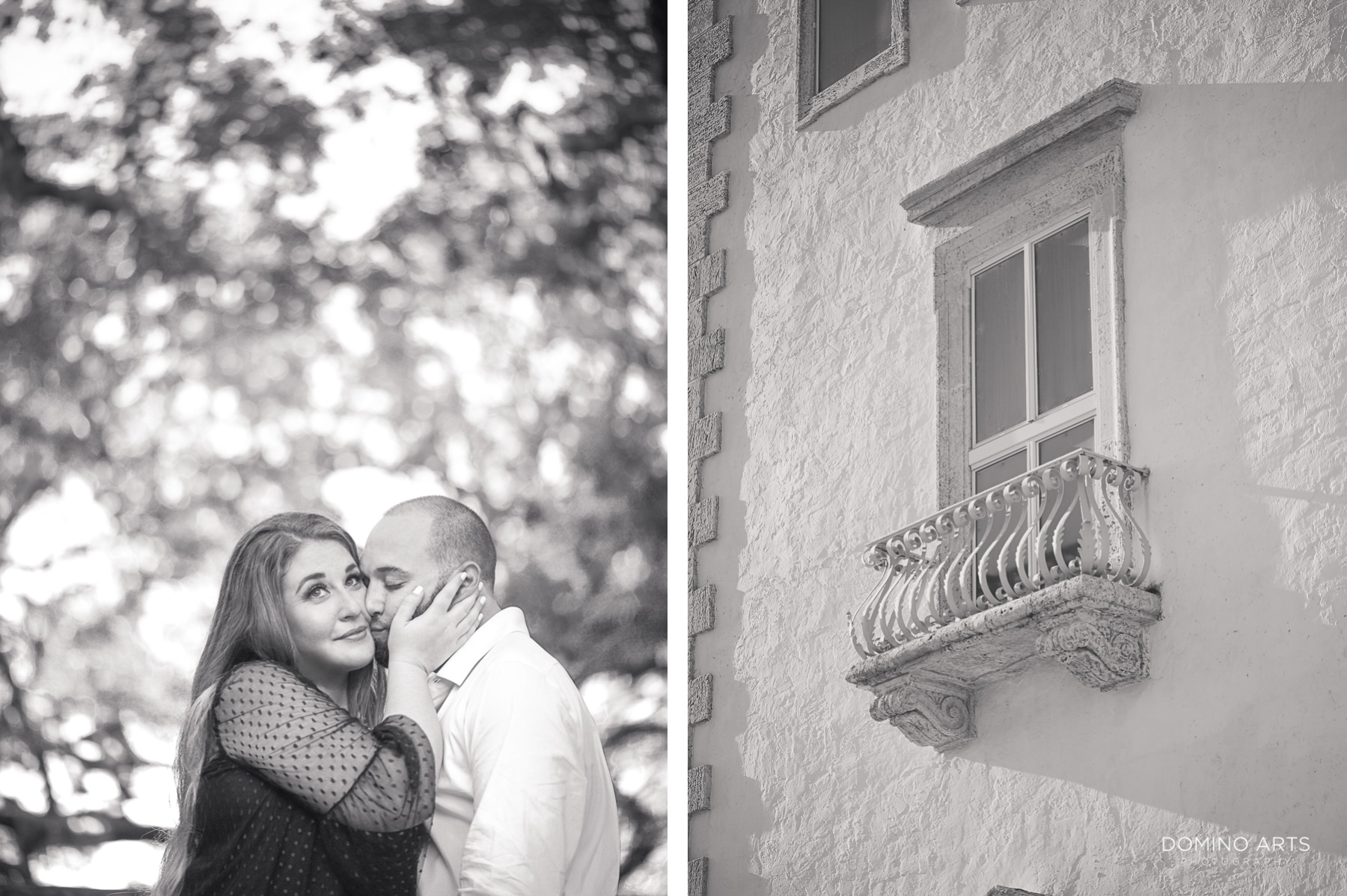 cute sweet fun photography at Vizcaya Museum and Gardens Miami Engagement