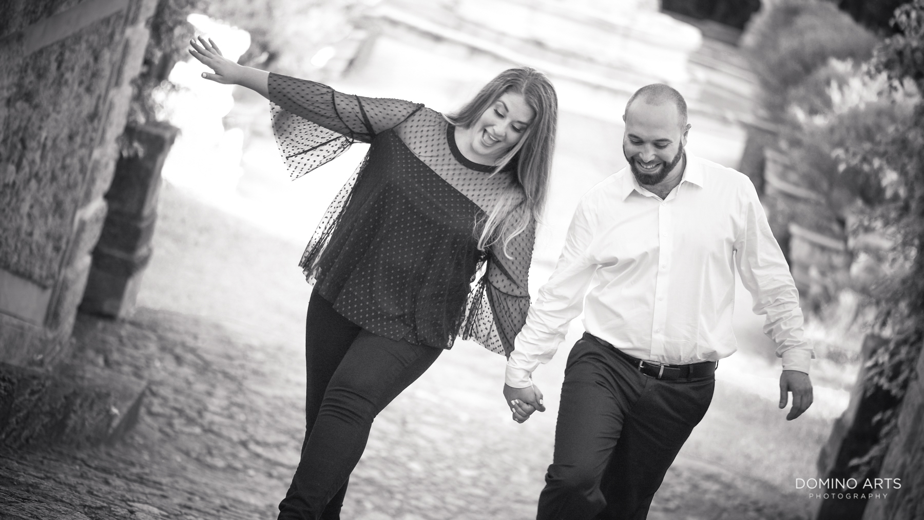 Vizcaya Museum and Gardens Miami Engagement fun couples