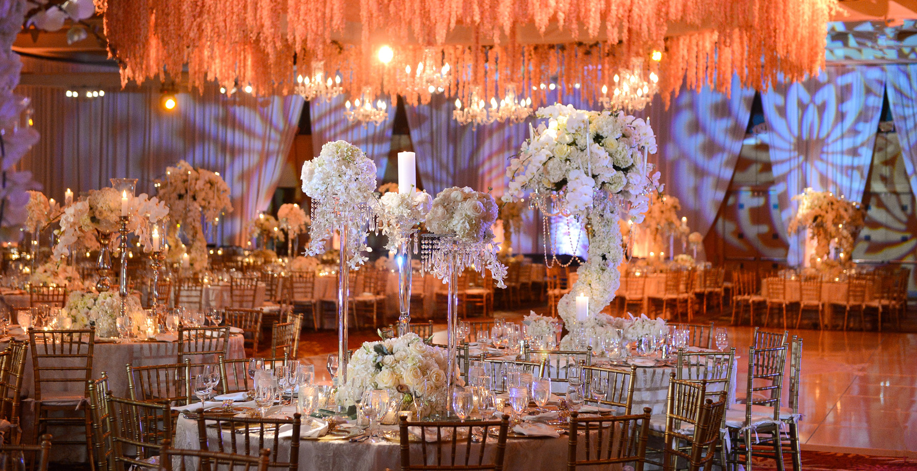 Luxury boutique wedding décor