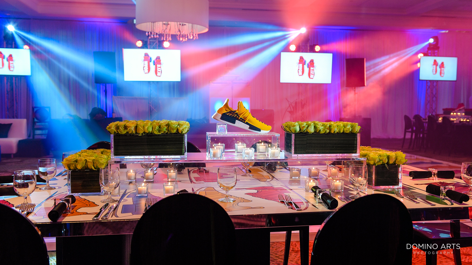 Colorful Sneaker theme Mitzvah photography unique ideas at Delaire Country Club