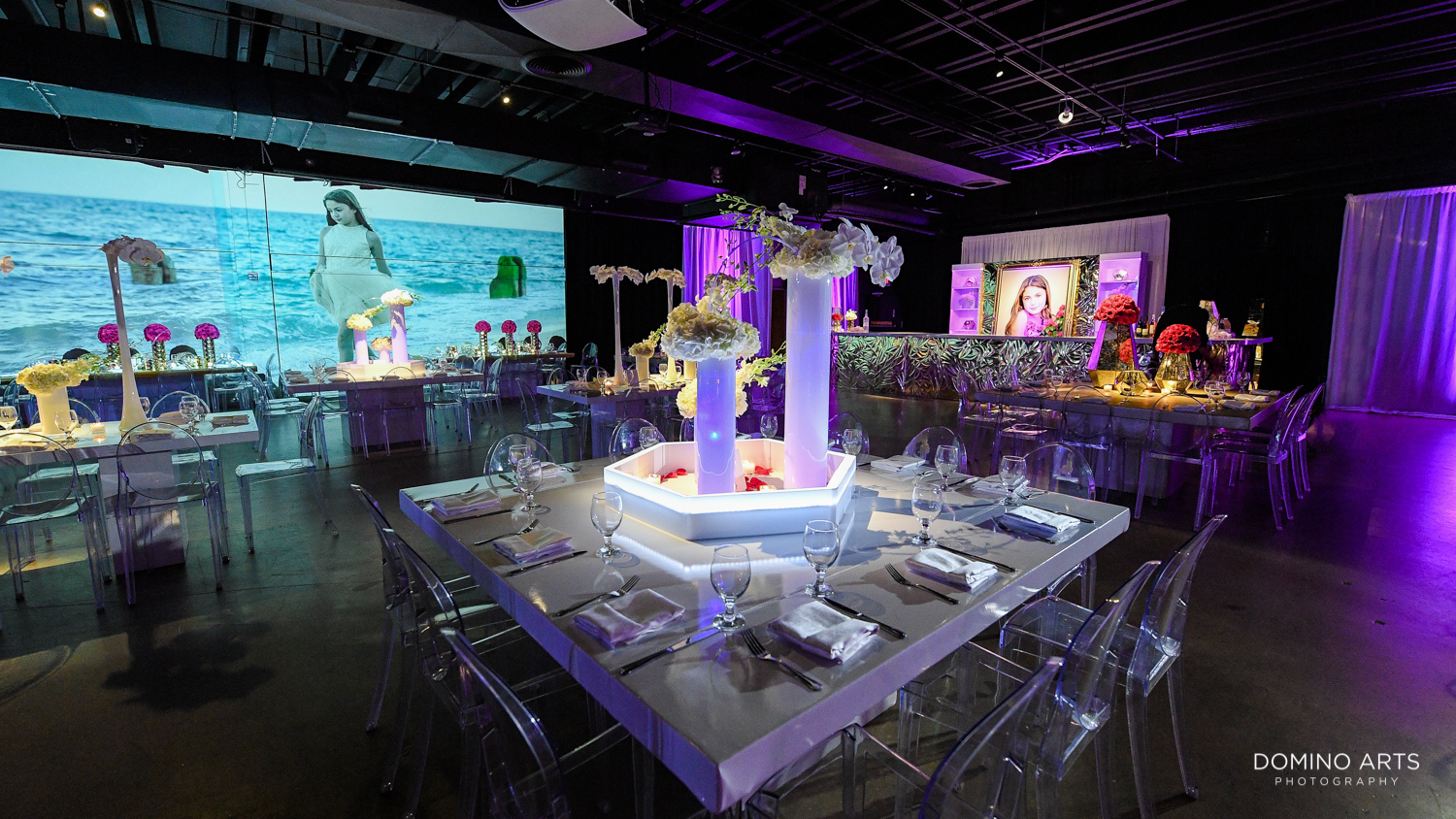 Modern Mitzvah decor pictures at Gallery of Amazing Things
