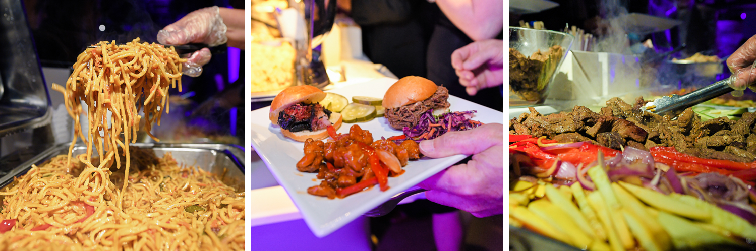 Mitzvah catering pictures at Gallery of Amazing Things