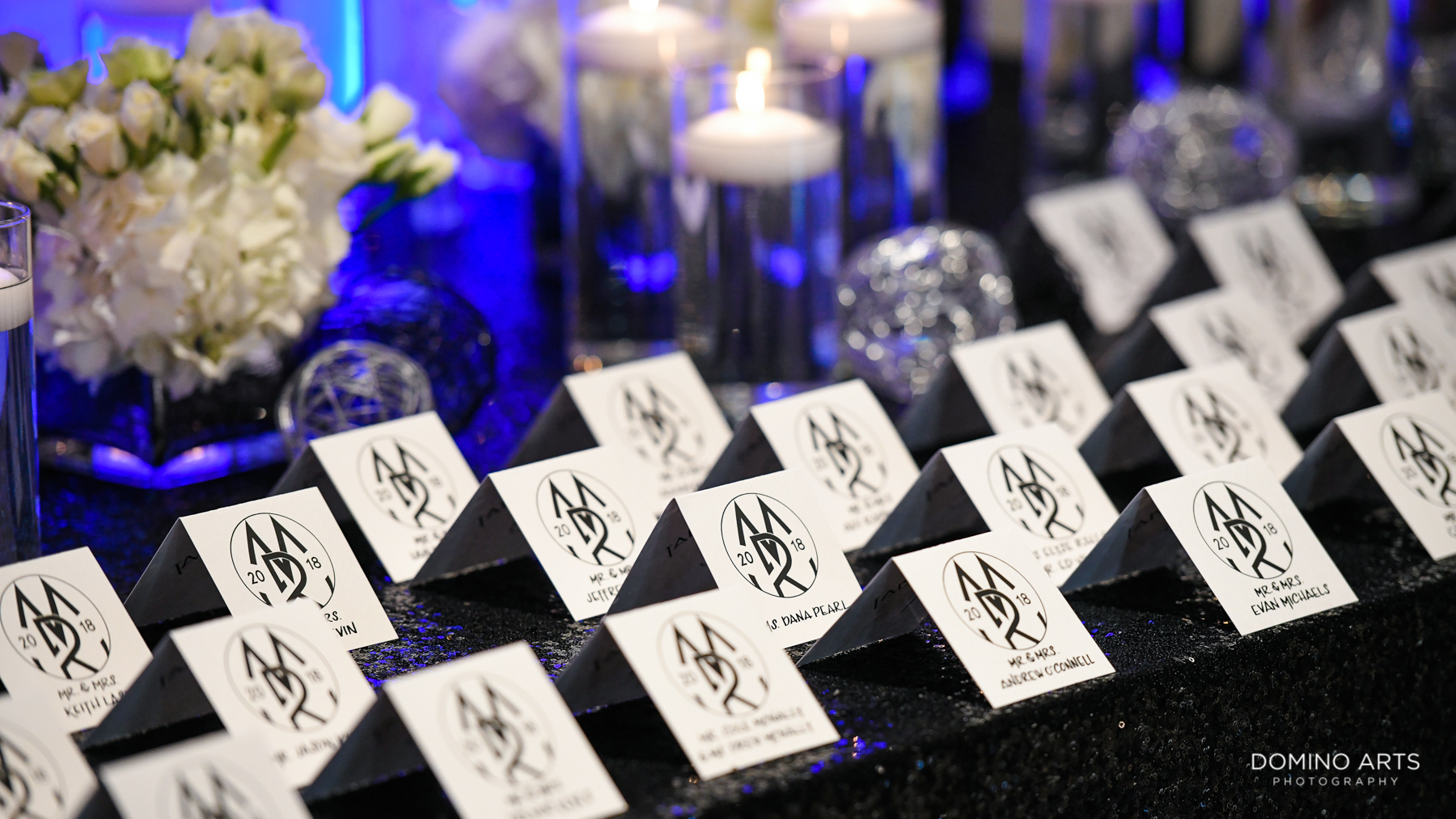 Place card ideas for mitzvah